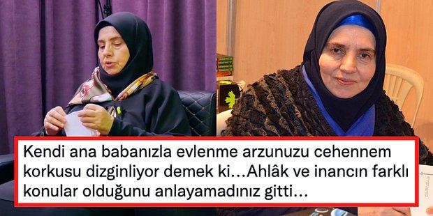 'Ateist ve Deistler Kendi Anne/Babalarıyla Evlenebilir.' Diyen AKP'li Yazar Emine Şenlikoğlu Gündemde