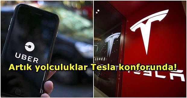 Dur Durak Bilmiyor! Uber, 50 Bin Tesla Siparişi Verecek