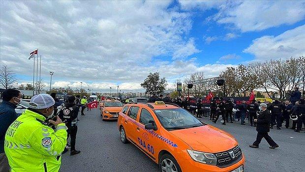 Sarı Öfke: İstanbul'da Taksicilerden İBB'ye Protesto