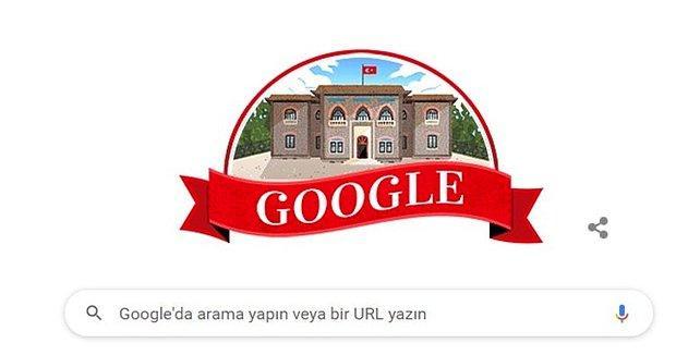 29 Ekim Cumhuriyet Bayramı Google'da Doodle Oldu!
